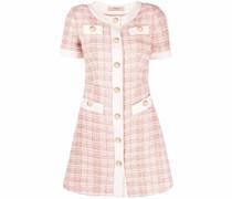 Kurzärmeliges Tweed-Kleid