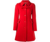Mantel mit Schleife