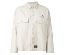 - patch pocket shirt jacket - women - Baumwolle