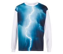 Sweatshirt mit Donner-Print