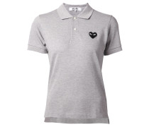 Poloshirt mit aufgesticktem Logo-Patch - women