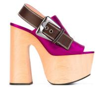 Sandalen mit Slingback-Knöchelriemen - women