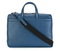 Laptoptasche aus strukturiertem Leder