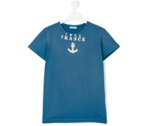 T-Shirt mit Anker-Print