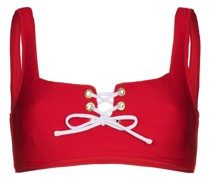 Bikinioberteil mit Knotenverschluss