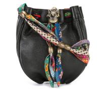 Umhängetasche mit Fuchsdetail - women - Leder