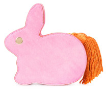 Clutch mit Kaninchenmotiv