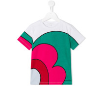 T-Shirt mit Print - kids - Baumwolle - 8 J.