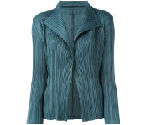 ribbed fitted jacket