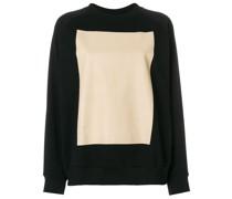 Sweatshirt mit Quadrat-Print
