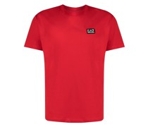 T-Shirt mit EA7-Patch