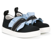 ruffle trim sneakers