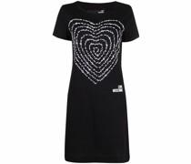 Jerseykleid mit 3D-Herz