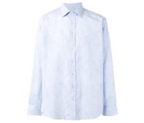 - Hemd mit floralem Print - men - Baumwolle - 40