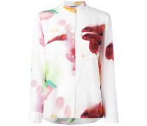 - Seidenhemd mit Blur-Optik - women - Seide - 40