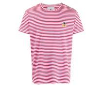 T-Shirt mit Daffy Duck-Stickerei