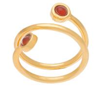 Spiralförmiger Ring mit Cabochons - Unavailable