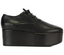 Flatform-Schnürschuhe - women - Leder/rubber