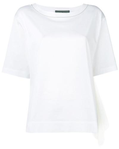 T-Shirt mit Netzeinsätzen