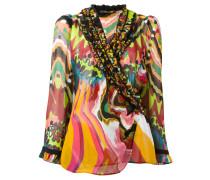 Seidenhemd mit Print - women - Seide - 40