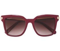 Rechteckige Sonnenbrille - women - Acetat/metal