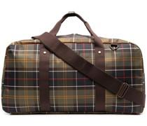 Karierte Reisetasche