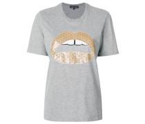 Alex lips sequined t-shirt