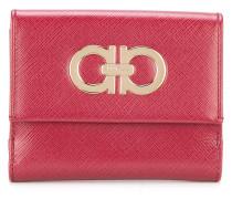 double Gancio foldover wallet