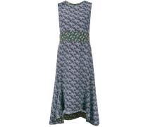 floral printed sleeveless dress