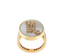 'Scorpio Lucky Zodiac' ring