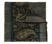 Wollschal mit Paisley-Print