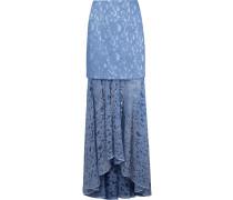 'marescot' lace maxi skirt