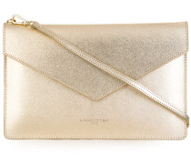 Clutch im Metallic-Look - women - Leder