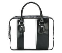 Mittelgroße Handtasche mit Streifen