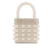 Handtasche mit Perlen
