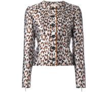 - Cropped-Jacke mit Leoparden-Print - women
