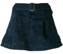 camouflage pattern skirt