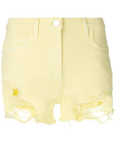 denim ripped shorts