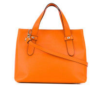 double handle tote bag - women - Leder