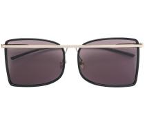 metal bar detail sunglasses