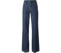 Jeans mit ungesäumtem Bein