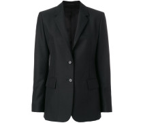 satin-lined blazer