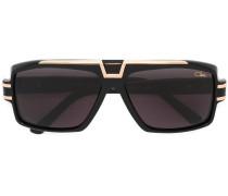 - Oversized-Sonnenbrille mit Logo - unisex
