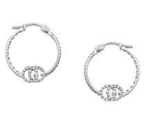 'GG Running' Ohrringe mit Diamanten