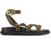 Sandalen aus Canvas