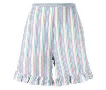 Gestreifte Shorts - women - Baumwolle - 36