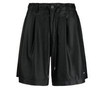 high-rise loose fit shorts