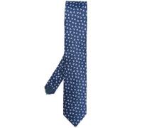bird pattern tie