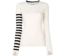 stripe sleeve jumper