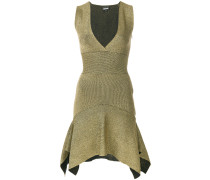 asymmetric hem mini dress
